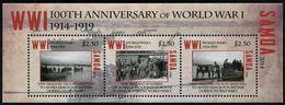 SAMOA 2014 - Cent De La 1ere Guerre Mondiale, Troupes Néo Zélandaises Débarquent A Samoa - BF Neufs // Mnh - Samoa
