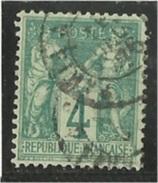 N° 63 Obl. - 1876-1878 Sage (Type I)