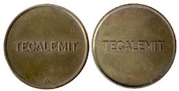 02754 GETTONE TOKEN JETON FICHA PARCHEGGIO PARKING AND GARAGE EQUIPMENT TECALEMIT - Reino Unido