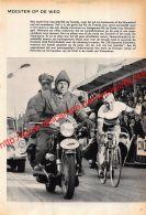 1962 Rik Van Looy Wint Parijs-Roubaix - Wielrennen - Documents Historiques