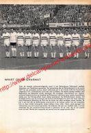 1962 Feijenoord Rotterdam Voetbalkampioen Van Nederland - Documents Historiques