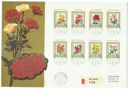 Suisse // Schweiz // Switzerland //  Pro-Juventute  // Lettre Recommandée Pour Rickenbach Série 1972 + 1977 - Lettres & Documents