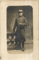 CARTE PHOTO SOLDAT REGIMENT N°29 - Regiments
