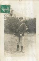 CARTE PHOTO SOLDAT REGIMENT N°10 - Regiments
