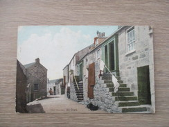 CPA ROYAUME UNI SAINT IVES OLD HOUSES - St.Ives