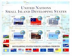 SAMOA 2014 - Nations Unies, Développement Des Petits états, Bateaux, Drapeaux - BF $4 X 6 Val Neufs // Mnh // CV35 Euros - Samoa