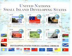 SAMOA 2014 - Nations Unies, Développement Des Petits états, Drapeaux - BF $3 X 6 Val Neufs // Mnh // CV25 Euros - Samoa