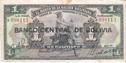 Bolivia - Pick 112 - 1 Boliviano 1929 - F - Bolivia
