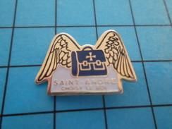 Pin811J Pin's Pins : Rare Et Belle Qualité : ADMINISTRATION / CARTABLE AILES ECOLE SAINT ANDRE CHOISY LE ROI - Administrations