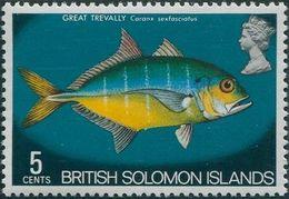 Solomon Islands 1972 SG223 5c Great Trevally MNH - Solomon Islands (1978-...)