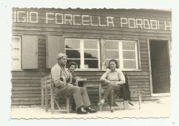 FOTO RIFUGIO FORCELLA PASSO PORDOI - CM. 10X7 - Orte