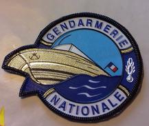 Ecusson Gendarmerie Nationale (version Plastique) - Police