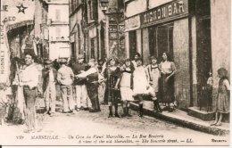 L100C_452 - Marseille - REPRODUCTION - Un Coin Du Vieux Marseille - La Rue Bouterie - LL - Marseille