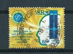 1998 India Radiology Used/gebruikt/oblitere - Gebruikt
