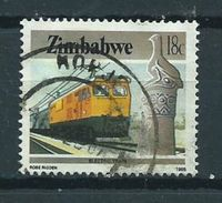 1985 Zimbabwe Train,railways,treinen 18 Cent Used/gebruikt/oblitere - Zimbabwe (1980-...)