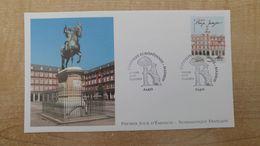FDC - N°4730 -Capitales Européennes - Madrid Plaza Mayor - 2010-....