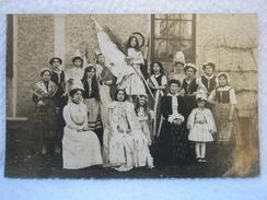 Ancienne Carte Postale / Photo Fête De Jeanne D'Arc / Déguisement De Jeune Femmes Et D'Enfants - France