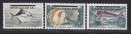 MALI N°   10 à 12 ** MNH Neufs Sans Charnière, Poissons, TB  (D1703) - Mali (1959-...)