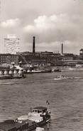GERMANY - Ludwigshafen A. Rh. 1961 - Rhein Mit Hochhaus BASF - River Boats - Ludwigshafen