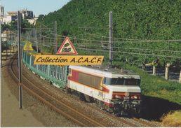 CC 6573 Avec Train De Bois à Viviers (07)  - - Viviers