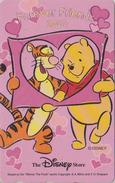 Télécarte Japon / 110-209562 - DISNEY STORE - Ours WINNIE POOH & Tigre Tiger ** FRIENDS 2000 ** - Japan Phonecard - Disney