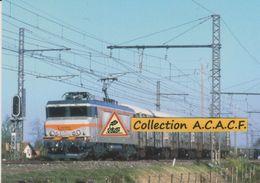 BB 7405 Et Train De Messageries, à Saint-Loubès (33)  - - France