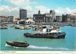 SINGAPORE WATERFRONT 1975 - Singapur