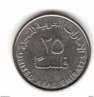 UAE United Arab Emirates 2017 UNC 25 Fils Uncirculated Coin New Issue - United Arab Emirates