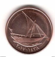 UAE United Arab Emirates 2017 New Issue 10 Fils Uncirculated Coin Ship - United Arab Emirates
