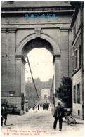 FR - FRIBOURG - Entrée Du Pont Suspendu - FR Fribourg
