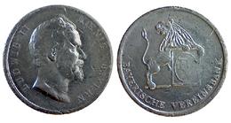 04913 GETTONE TOKEN JETON FICHA COMMEMORATIVE BAYERISCHE VEREINSBANK LUDWIG II KOENING BAYERN - Allemagne