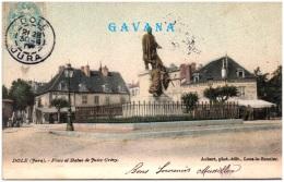 39 DOLE - Place Et Statue De Jules Grévy - Dole