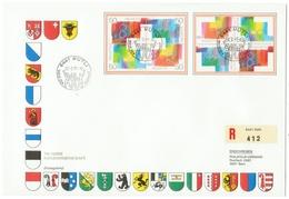 Suisse // Schweiz // Switzerland //  1990-1999  // Lettre Recommandée Pour Bern 700 Ans De La Confédération 1991 - Suisse