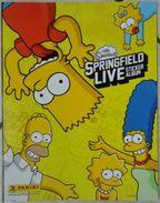 Album Vuoto The Simpsons Springfield Live Per La Raccolta Di Figurine - Edizione Panini N. 12/2013 - Panini