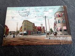 CPA Animée - ASBURY PARK - NJ - Junction Of Cookman And Mattison Ave's - Stati Uniti