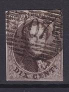 N° 10 Margé Perception 107 MANAGE - 1858-1862 Medallones (9/12)