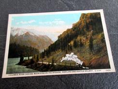 CPA - Columbia River Cascade Mountains Of The SPOKANE, PORTLAND And SEATTLE Railway - Spokane