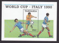 Tanzania, Scott #522, Mint Never Hinged, Soccer, Issued 1989 - Tanzanie (1964-...)