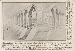 Sélestat Ancien Cloître Des Dominicaines- En 1903 Hopital - Selestat