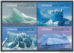 Australian Antarctic A.A.T. ( Australia) 2011 - Paysages, Icebergs - 4v Neuf // Mnh - Ongebruikt