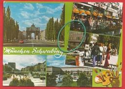 München, Schwabing, Siegestor, Ludwigstraße, Münchner Freiheit, Universität - München