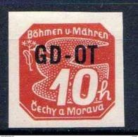Böhmen Und Mähren 1939 Mi 51 ** [241213III] @ - Unused Stamps