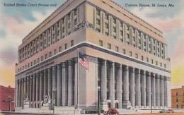 Missouri St Louis United States Court House and Custom House