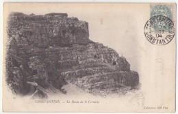 (Algérie) 043, Constantine, ND Phot 27, La Route De La Corniche, Dos Non Divisé - Constantine