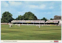 CRICKET : CHELMSFORD, ESSEX - THE CRICKET GROUND - Cricket