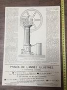 ENV 1868 MACHINE ATMOSPHERIQUE A GAZ DE LANGEN ET OTTO DE MONTALAN - Vieux Papiers