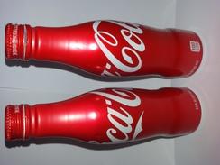 COCA COLA   - AMERICA  EMPTY ALUMINIUM BOTTLE - Soda
