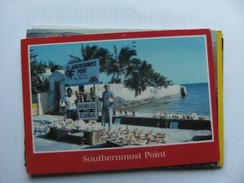 America USA FL Florida Southernmost Point Key West - Key West & The Keys