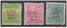 Cuba 0332/334 ** MNH. 1950 - Ongebruikt