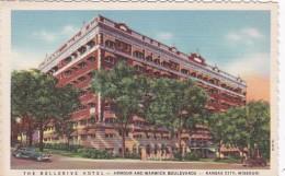 Missouri Kansas City The Bellerive Hotel Curteich